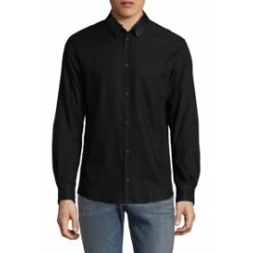 イロ Men Clothing Oxo Cotton Shirt