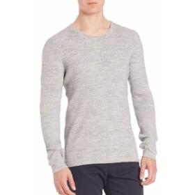 ヴィンス Men Clothing Military Cotton-Blend Sweater