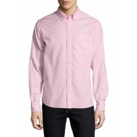 セーブカーキ Men Clothing Collar Oxford Sportshirt