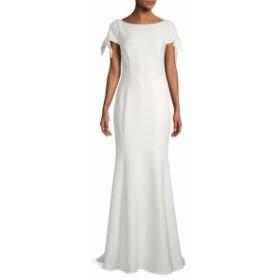 バッジリーミシュカ レディース ワンピース Tie Cap Sleeve Gown