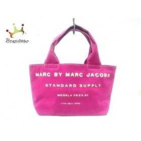 マークバイマークジェイコブス MARC BY MARC JACOBS ハンドバッグ - ピンク キャンバス 新着 20190516