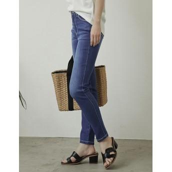 パンツ・ズボン全般 - Re: EDIT 夏のデニムを快適に。機能性「サマーデニム」誕生! リラックスサマースキニーデニム ボトムス/パンツ/デニムパンツ