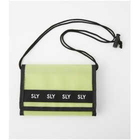 スライ LOGO MESH WALLET SHOULDER レディース YEL FREE 【SLY】