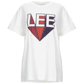 《セール開催中》LEE レディース T シャツ ホワイト L コットン 100%