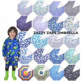 ザジーザップス(Zazzy zaps) WORLDMAP 傘(カサ) 手開き・透明窓つき(M(50cm)・L(55cm))