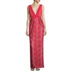 ML モニークリュエリ レディース ワンピース Lace Evening Gown
