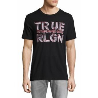 トゥルー リリジョン Men Clothing Established Logo Graphic Tee