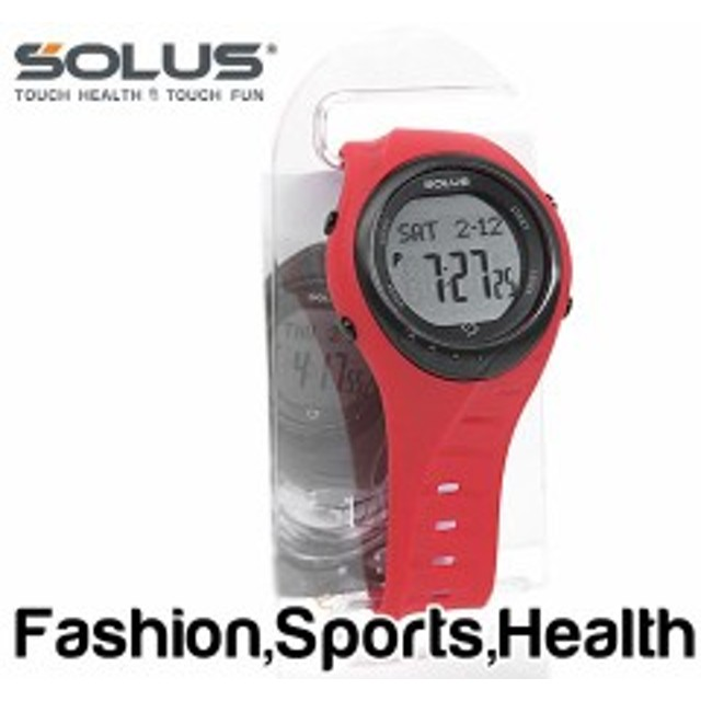 674672910c 【SOLUS Team Sports 300】ソーラス チームスポーツ300 ウォーキング ジョギング 健康 腕時計 消費カロリー