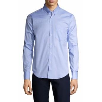 ネイキッド&フェイマス Men Clothing Solid Patch Pocket Regular Sportshirt