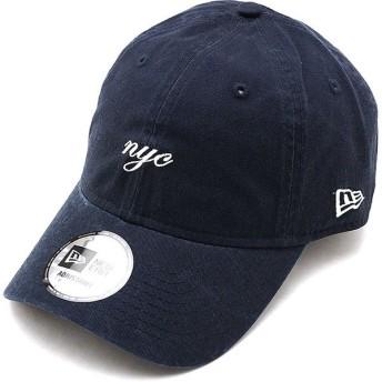ニューエラ キャップ NEWERA CAP 9THIRTY ミニロゴ クロスストラップ MINI NYC SCRIPT メンズ レディース 帽子 NVY WHT ネイビー系 12048735 SS19