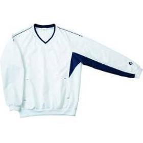 コンバース CONVERSE Vネックウォームアップジャケット CB162508S [カラー:ホワイト×ネイビー] [サイズ:L] #CB162508S-1129