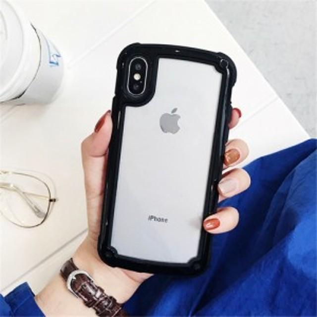 ブラック iphoneXS MAXiphoneケース シンプル バイカラー カラーフレーム 防塵 保護 フィット感 滑らない