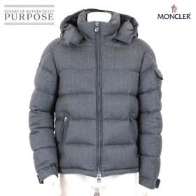モンクレール MONCLER ダウン ジャケット モンジュネーブル MONTGENEVRE ウール フード付き グレー サイズ 2 2017年 メンズ