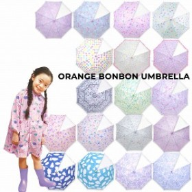 オレンジボンボン Orange Bonbon FunnyAnimal 傘 かさ (透明窓)(M50cm/L55cm)