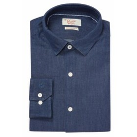オリジナルペンギン Men Clothing Solid Slim Fit Cotton Dress Shirt