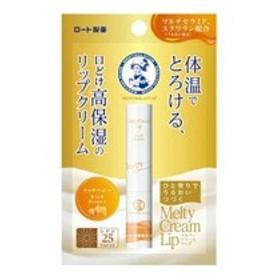 ロート製薬 ROHTO メンソレータム メルティクリームリップ リッチハニー 2.4g 化粧品 コスメ