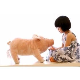 豚猪 クッション 抱き枕 オフィス用にも いのししの ぬいぐるみ 55cm