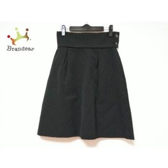 ドレステリア DRESSTERIOR スカート サイズ36 S レディース 美品 黒×シルバー スペシャル特価 20190818
