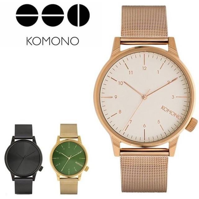 09cfa0d2b9 コモノ 腕時計 KOMONO ウィンストンロイヤル WINSTON ROYALE メンズウォッチ ステンレススティール ステンレスベルト komono -maneypenny