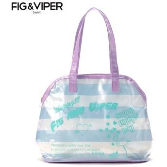 FIG & VIPER フィグアンドヴァイパー ガマトート パープル ビーチバック 海水小物 33951521