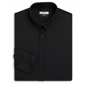 ヴェルサーチコレクション Men Clothing Point Collar Cotton Dress Shirt