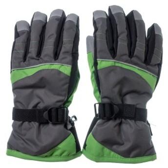 SMOGPERFORMER AC-014-GRL 【大人用】 スキー5指手袋 AC-014 灰色 サイズ:L (灰色サイズ:L) (AC014GRL)