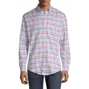 ブルックスブラザーズ Men Clothing Multi Check Regent Cotton Sportshirt