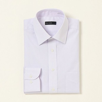 形態安定レギュラードレスシャツ(メンズ) ウスムラサキ