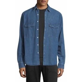 J. リンデベルク Men Clothing David CI Grain Cotton Sportshirt