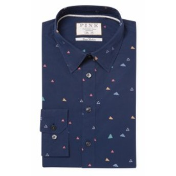 トーマスピンク Men Clothing Alvar Cotton Dress Shirt