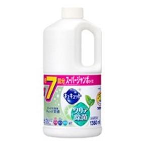 花王 KAO キュキュット クリア除菌 緑茶の香り 詰替用 1380ml 日用品・生活雑貨