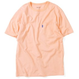 Lafayette ラファイエット SOLID POCKET TEE 半袖 ポケット Tシャツ LFT19SS056 PINK ピンク