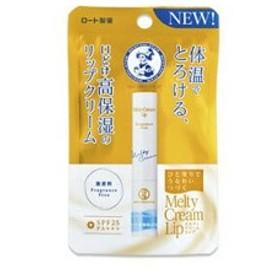 ロート製薬 ROHTO メンソレータム メルティクリームリップ 無香料 2.4g 化粧品 コスメ
