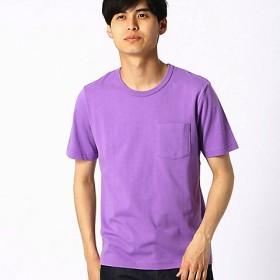 【SALE(三越)】<COMME CA ISM (メンズ)> カラーTシャツ(4760TL36) パープル【三越・伊勢丹/公式】