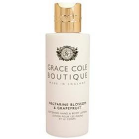 GRACE COLE BOUTIQUE グレースコールブティック ハンド&ボディローション ネクタリンブロッサム&グレープフルーツ 100ml 化粧品