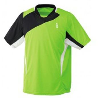 ゴーセン GOSEN ゲームシャツ(ユニセックス) T1406 [カラー:ネオングリーン] [サイズ:LL] #T1406 スポーツ・アウトドア