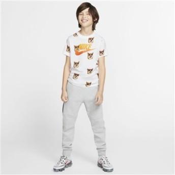 キッズ 【NIKE ウェア】 ナイキウェア K エア ドッグ Tシャツ BQ2707-100 100 WHITE 150