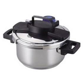 パール金属 PEARL METAL 3層底 ワンタッチレバー 圧力鍋 4L キッチン用品