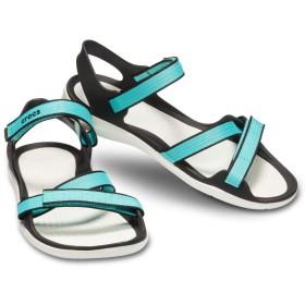 【クロックス公式】 スウィフトウォーター ウェビング サンダル ウィメン Women's Swiftwater Webbing Sandal ウィメンズ、レディース、女性用 ブルー/青 21cm,22cm,23cm,24cm,25cm sandal サンダル