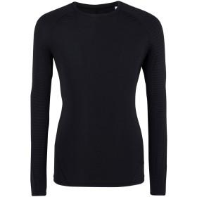 《期間限定 セール開催中》ADIDAS メンズ T シャツ ブラック L ナイロン 77% / ポリウレタン 23% ASK TEC TEE LONG SLEEVE