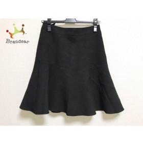ニジュウサンク 23区 スカート サイズ36 S レディース 美品 黒 新着 20190516