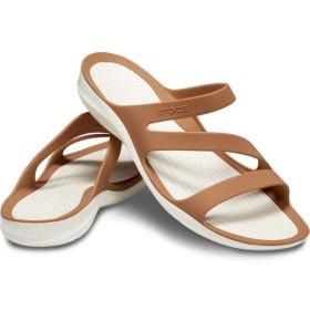 【クロックス公式】 スウィフトウォーター サンダル ウィメン Women's Swiftwater Sandal ウィメンズ、レディース、女性用 ブラウン/茶 22cm,23cm,24cm,25cm sandal サンダル