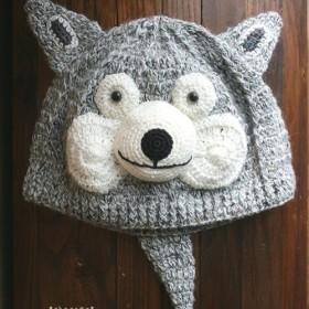 no.1878 Wolf Knit Cap (おおかみのぼうし)