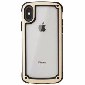 ゴールド iphoneX iphoneケース シンプル バイカラー カラーフレーム 防塵 保護 フィット感 滑らない