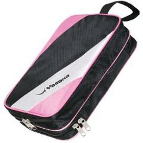 ヤサカ YASAKA 卓球ラケットケース スワールDXケース [カラー:ピンク] [サイズ:30×21×7.5cm] #H-137-25 スポーツ・アウトドア