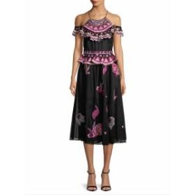 テンパーリーロンドン レディース ワンピース Wildflower Cold Shoulder Dress