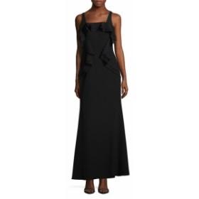 JS コレクションズ レディース ワンピース Sleeveless Flounce Evening Gown
