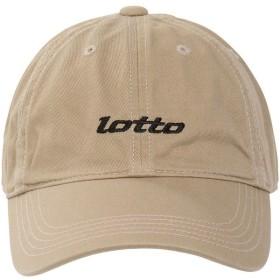 LOTTO(ロット)スポーツアクセサリー 帽子 シシュウキャップ LO-Y19-013-003 メンズ FREE ベージュ