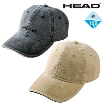 【メンズ】 HEAD顔料洗い加工キャップ(色違い2個組) - セシール ■カラー:ブラック系・ベージュ系 ■サイズ:62,58