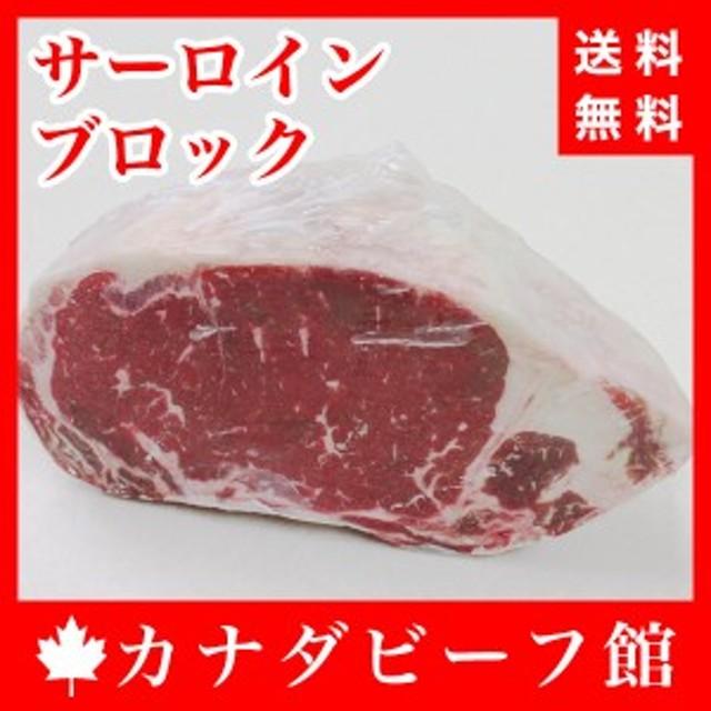 [送料無料]サーロインブロック1kg~1.1kg ※北海道・沖縄は送料1400円